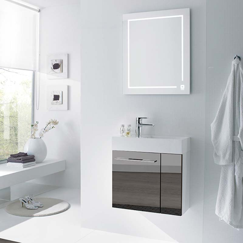 6001 Solitaire Bathroom Wall Mirror Buy Online At Bathroom City