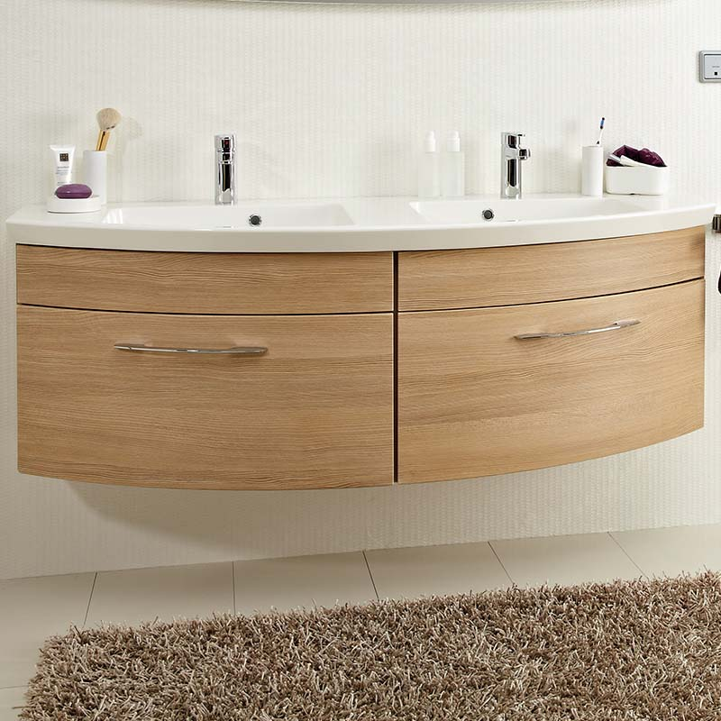 Cassca Double bathroom Vanity Unit 1510 2 delux draws