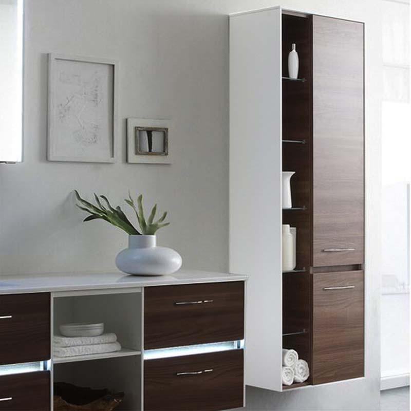 Bathroom Open Wall Shelves: Solitaire 6010 Bathroom Shelf Unit 2 Revolving Doors With