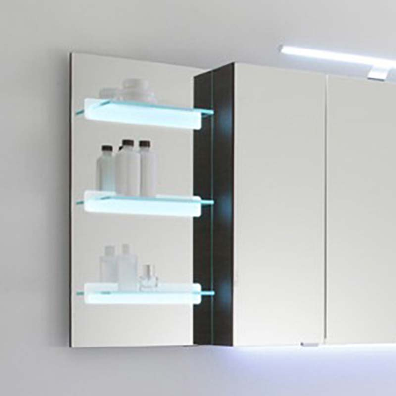 Solitaire 7005 Illuminated Mirror Glass Shelf 700x350x150 Pg1 Buy Online At Bathroom City