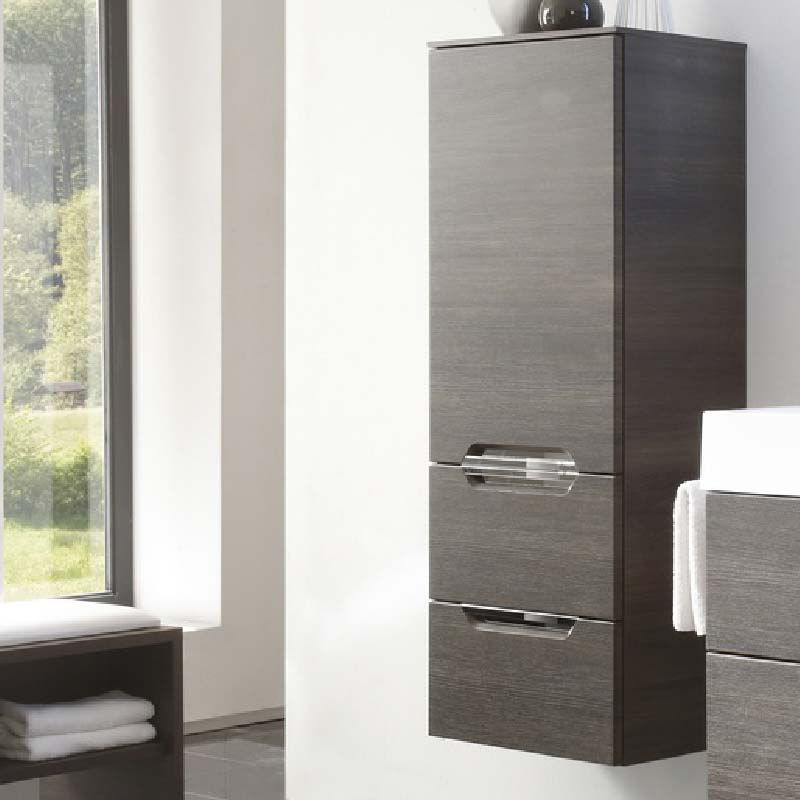 Solitaire 7020 Wall Hung Side cabinet LH 1210x450x330 PG1
