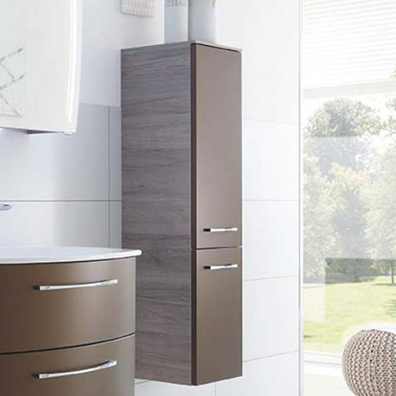 Solitaire 7025 Wall Hung Side cabinet LH 1210x300x170 PG1