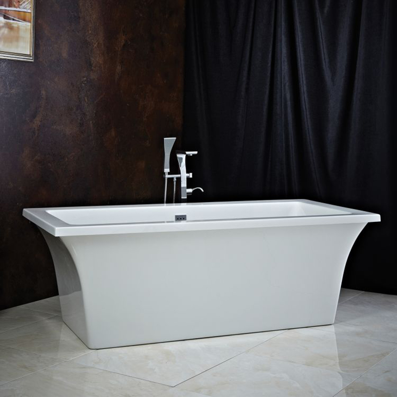 ASSAI 1700 x 750 Bath With White Surround