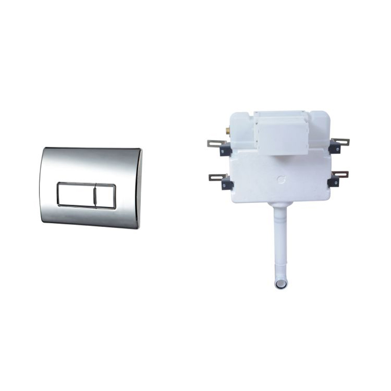 LUXURY Concealed Cistern Dual Flush SQUARE Button