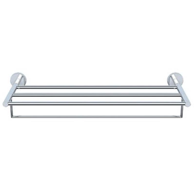 Continental Towel Shelf 600mm Long With Lower Hanger