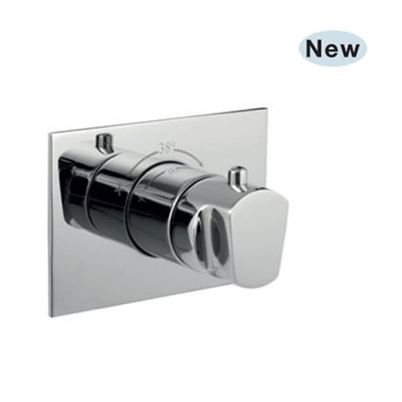 Aria Thermostatic Concealed High Flow Valve, HP 1.0