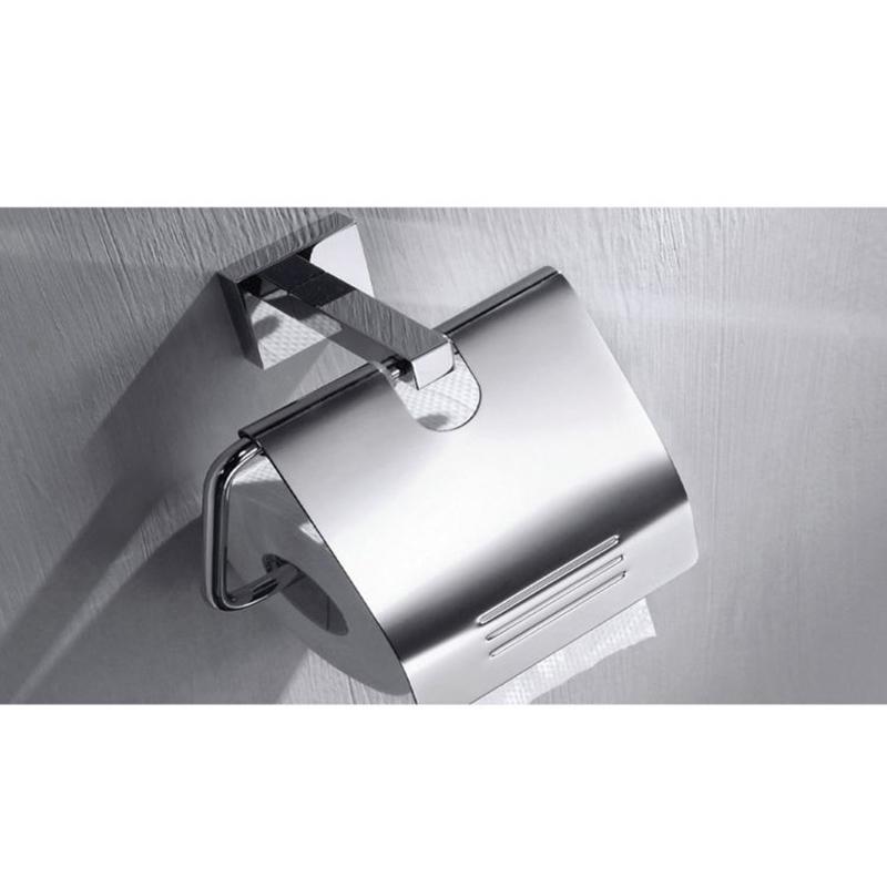 CU Series Square Paper Holder (Brass)