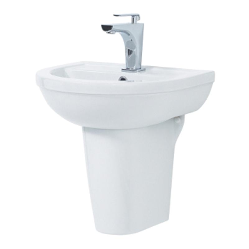 EMMA 50cm Basin & Semi Pedestal