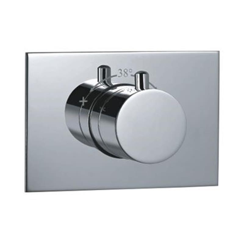 Florentine Thermostatic Concealed High Flow Valve, HP 1.0
