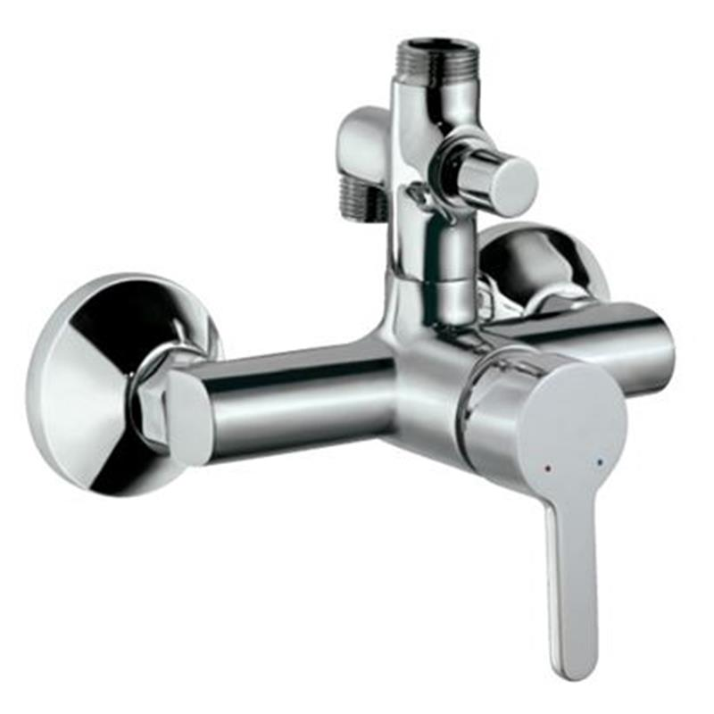 Fusion Single Lever Shower Mixer Provision For Connection Toexposed Pipe Sha