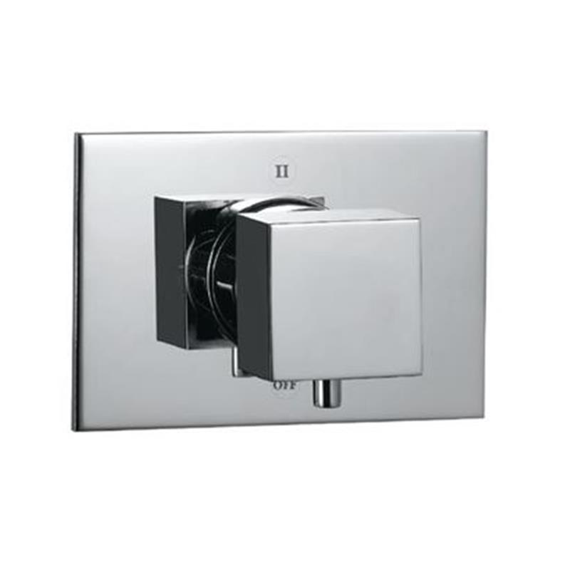 Kubix 4-Way Diverter Valve with 1-Shut-off Position & 3-Outlets (Recommended For Use With Item KUB-35679)