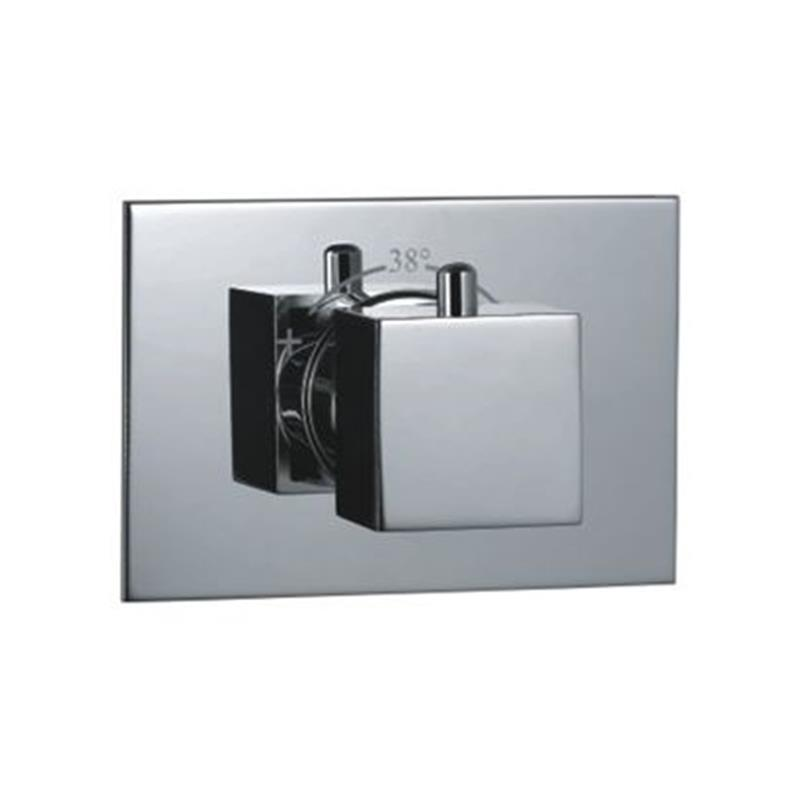 kubix Thermostatic Concealed High Flow Valve, HP 1.0