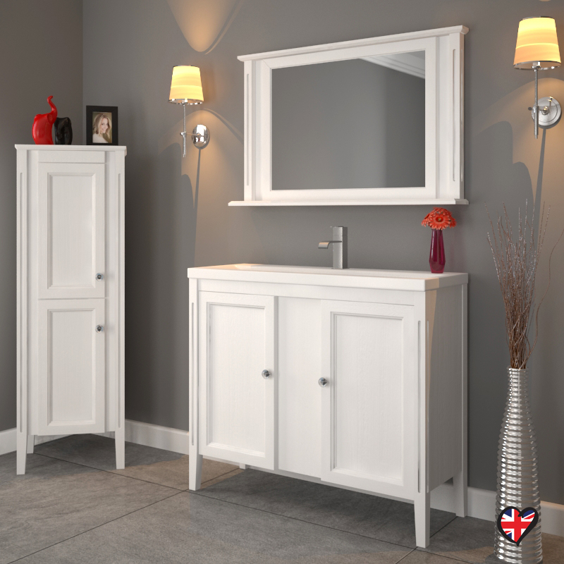 bathroom basin furniture. White Oak Traditional Bathroom Basin And Unit Furniture
