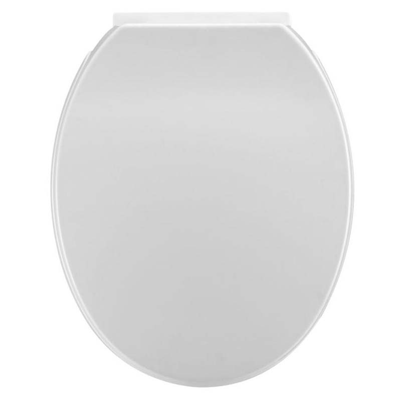 White Standard Round Soft Close Toilet Seat Buy Online At