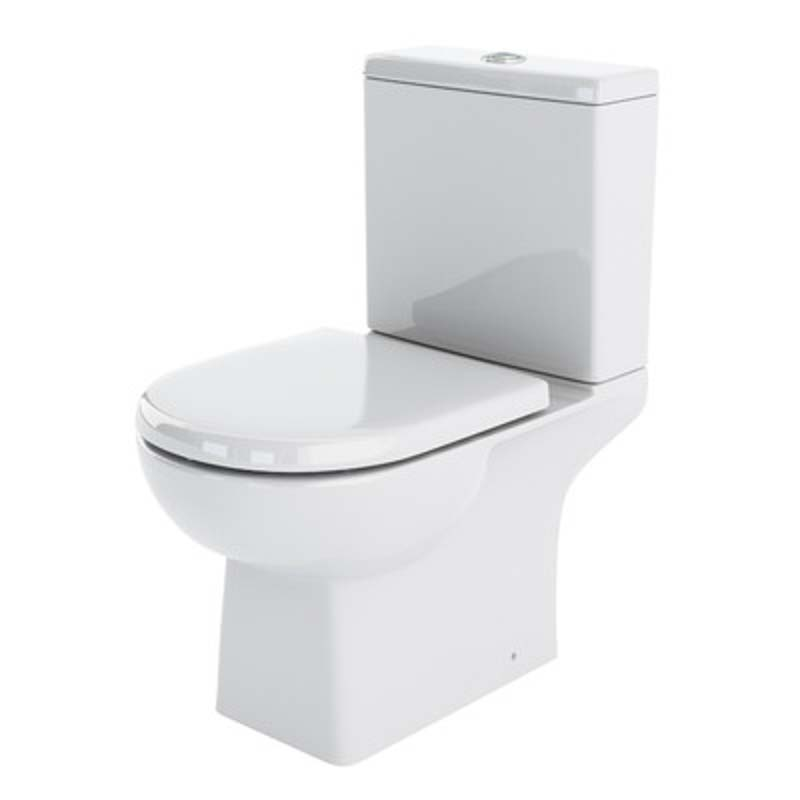 Asselby Close Coupled Pan and soft close seat