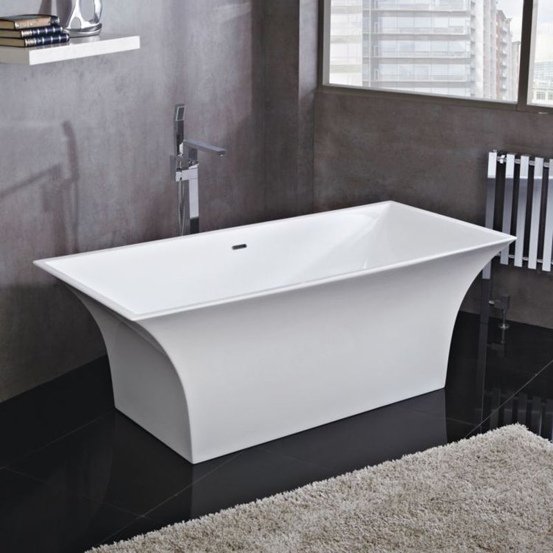 Lola 1700 X 750 Freestanding Bath Inc Chrome Overflow And