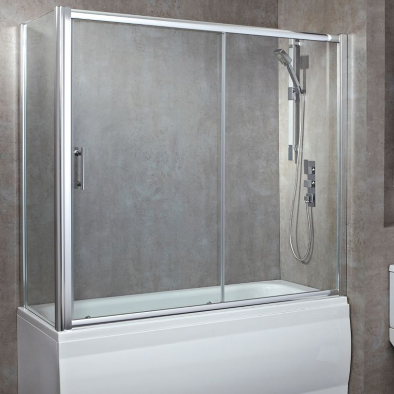 Luxury 1700 Over Bath Single Sliding Door Buy Online At
