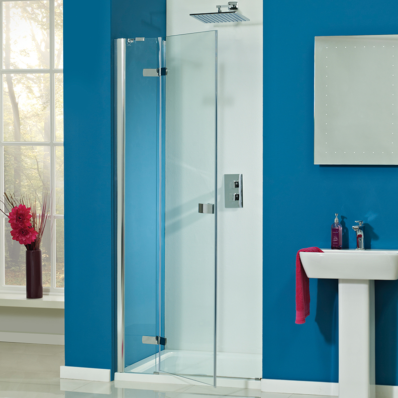 Idyllic 1200 frameless hinged door 8mm buy online at for 1200 hinged shower door