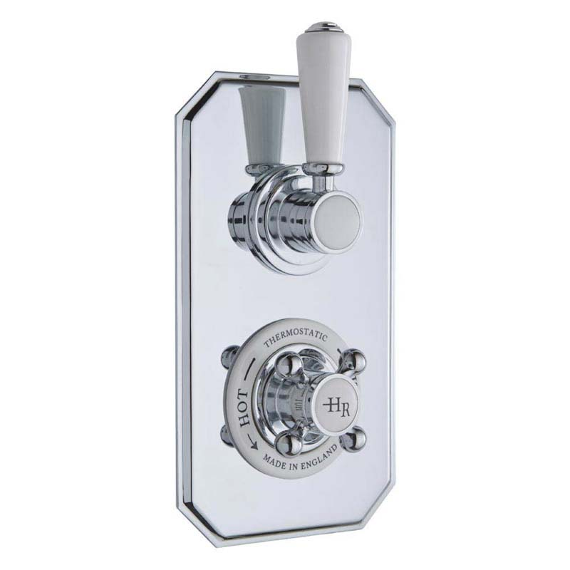 Chrome Topaz Thermo Twin Concealed Valve