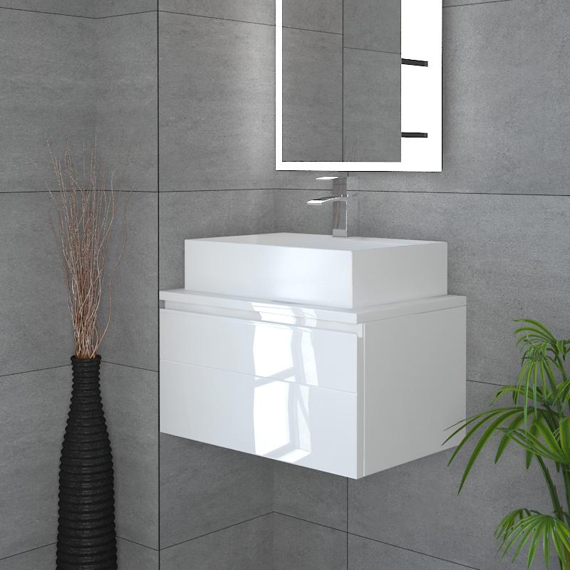 Mercury Delux Drawer Box Wall Hung Vanity Unit Buy Online At Bathroom City