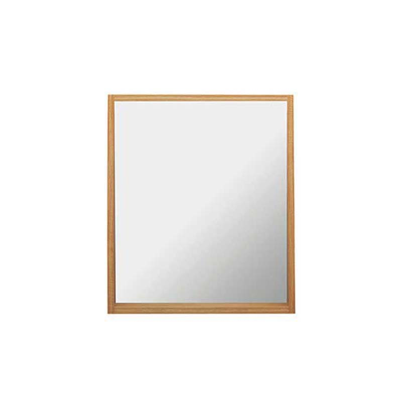 Canterbury Large Mirror with Shelf and Demister Rosedale White