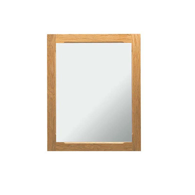 Broadway Cloak Mirror h650mm x w520mm x d20mm Rosedale White