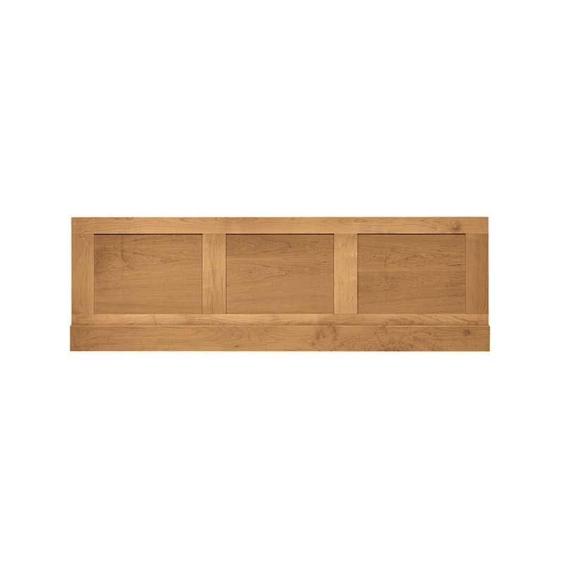Thurlestone bath end panel - 730mm White