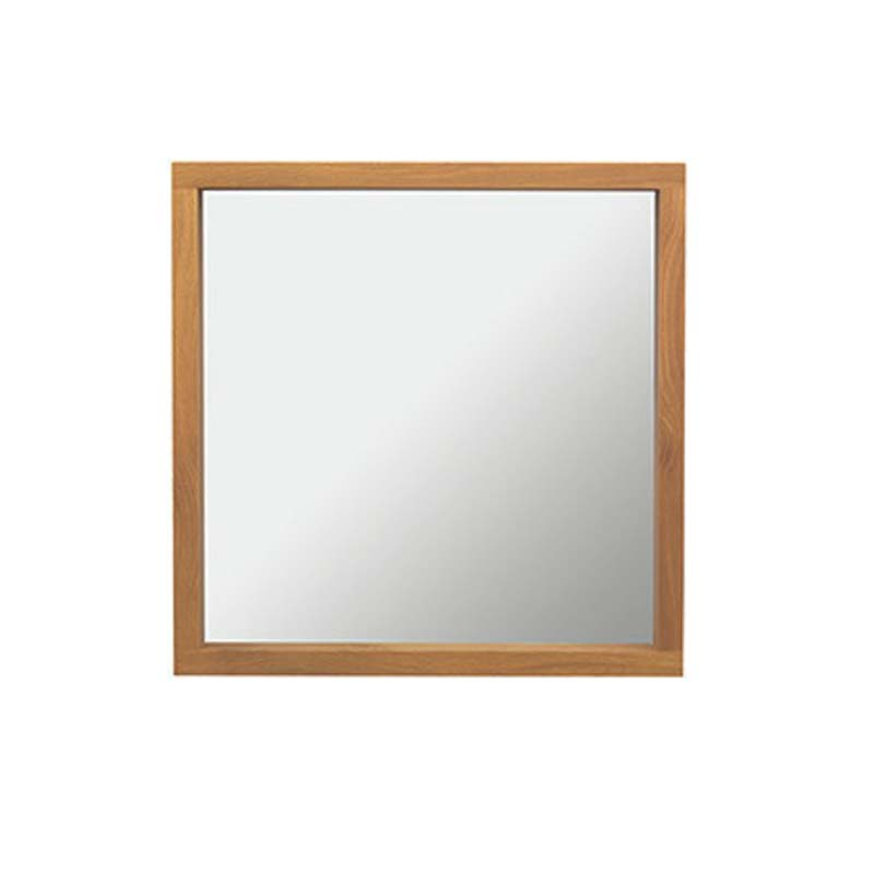 Small Box Mirror and Lights and Demister h630mm x w630mm x d90mm Rosedale White