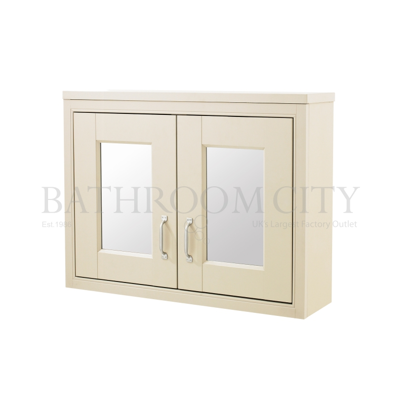 Old london 800 mirror cabinet buy online at bathroom city for Bathroom cabinet 800