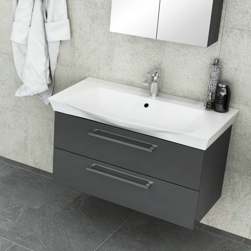 PEMBERTON 950 2 DRAW UNIT ANTHRACITE