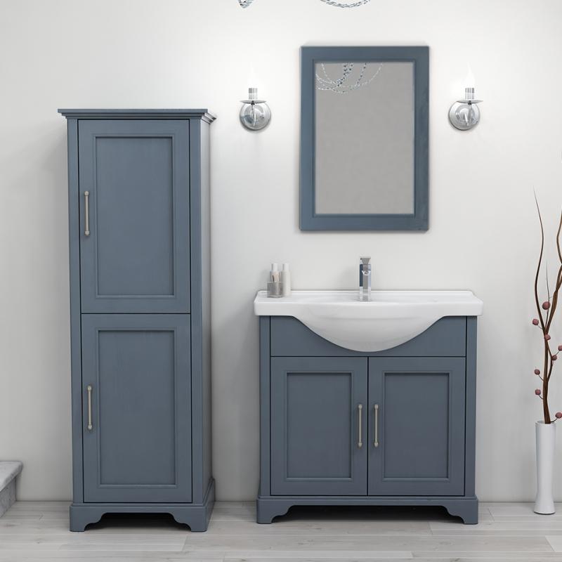 Old England 65 Storage Bathroom Suite Indigo