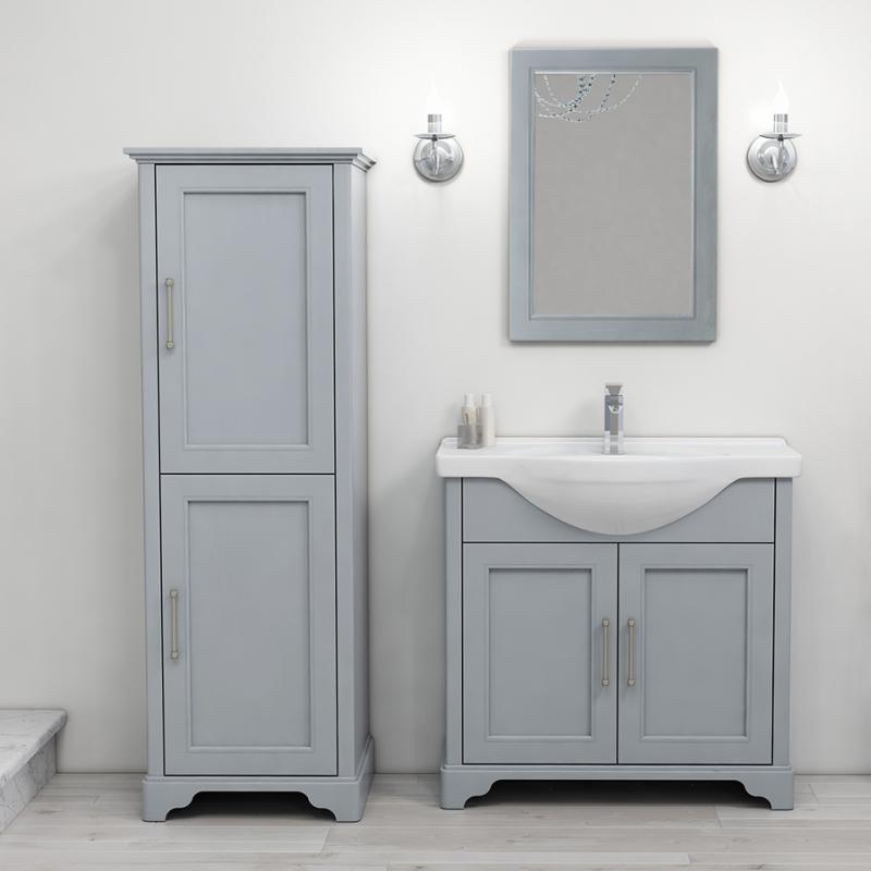 Old England 65 Storage Bathroom Suite Dove Grey