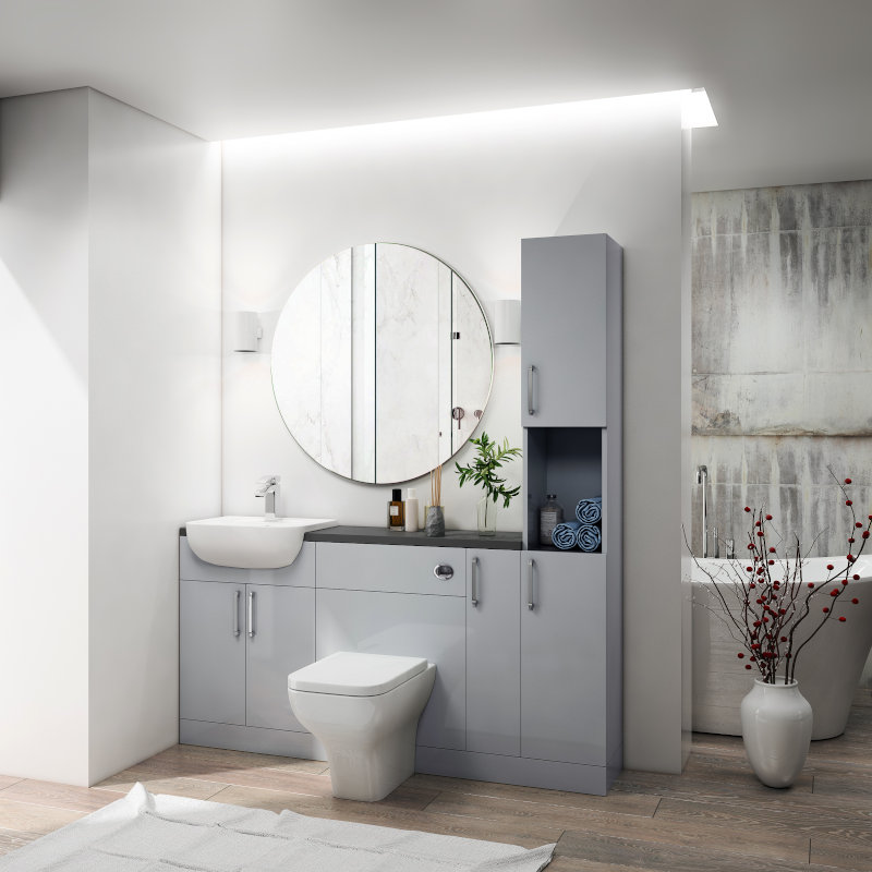 Oliver 1700 Fitted Furniture Suite Buy Online At Bathroom City