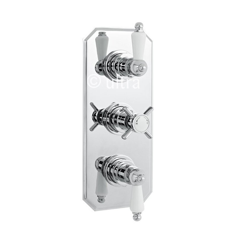 BEAUMONT TRIPLE CONCEALED THERMO VALVE