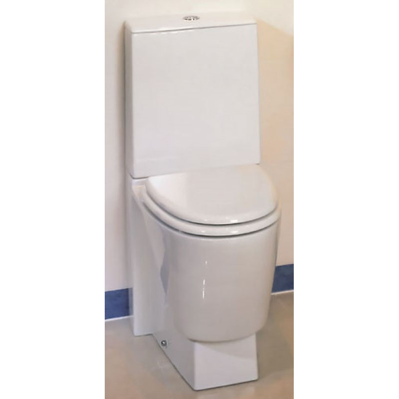 Mistral Close Coupled Toilet and Toilet Seat