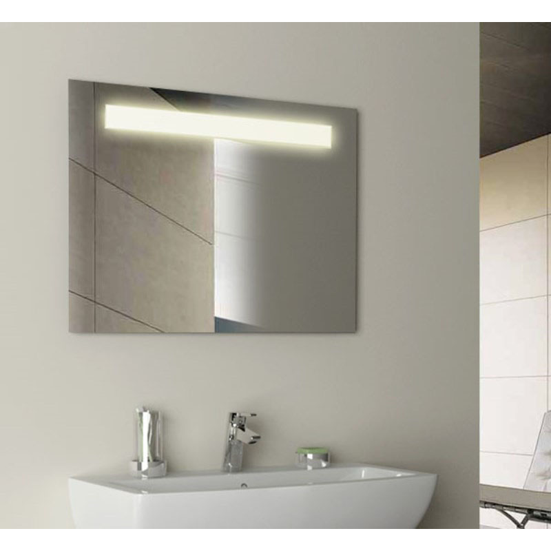 Gem Rectangular Illuminated Mirror Buy Online At Bathroom City