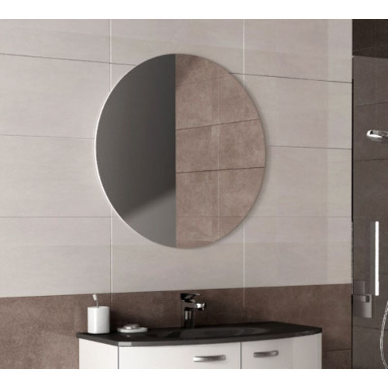 Sunny round illuminated mirror buy online at bathroom city for Round bathroom mirrors