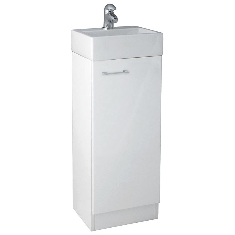 Spark Plane 325 Vanity Unit with Ceramic Basin, Tap and Waste