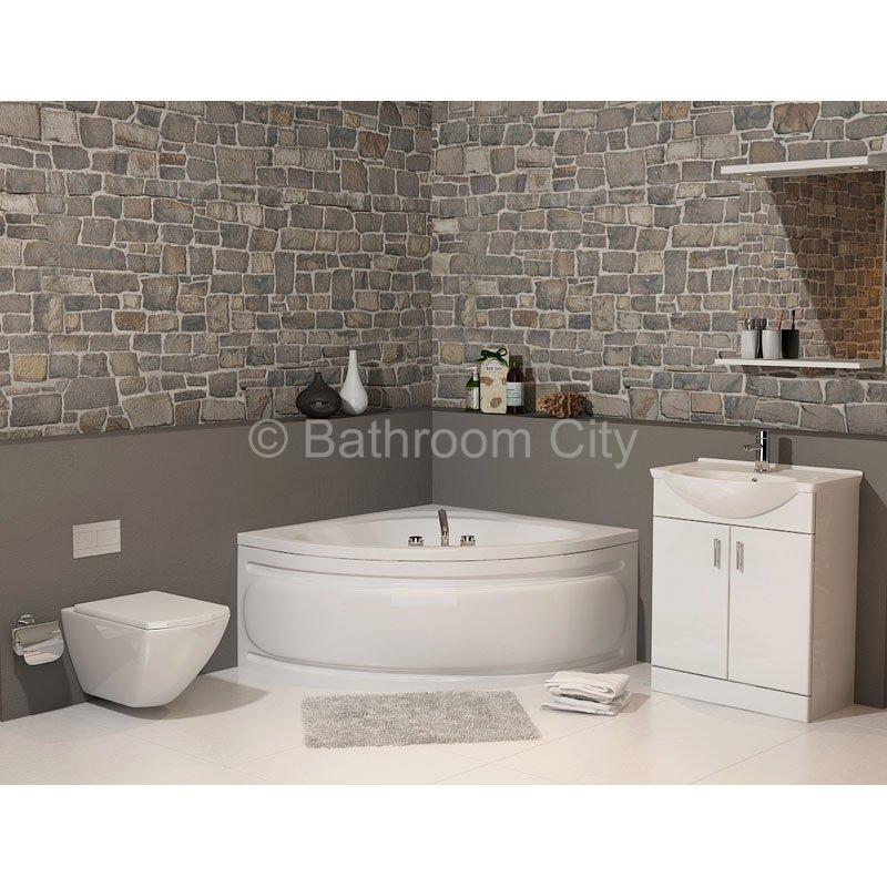 Laguna Plus 1200 Corner Bath Amp Front Panel Buy Online At Bathroom City