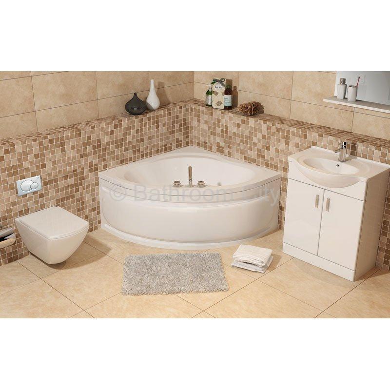 Large and Small Corner Baths UK at Bathroom City