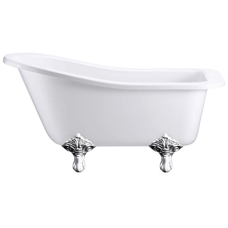 roll top 1500 freestanding slipper bath buy online at bathroom city