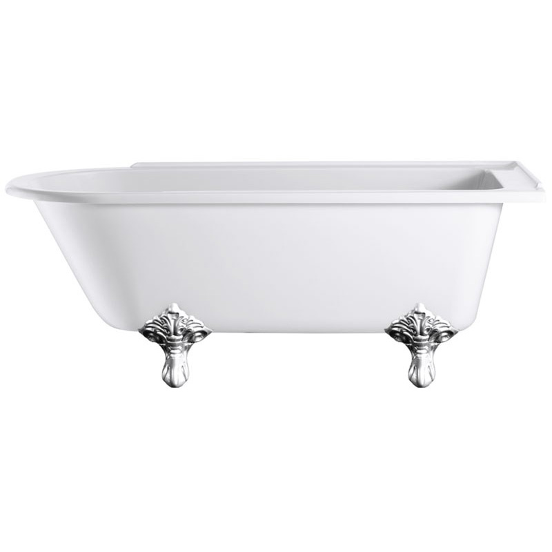 Hampton Roll Top Right Hand 1700 Shower Bath Buy Online At