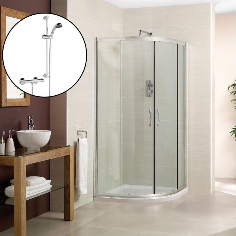 Buy Quadrant Shower Enclosures Online - Bathroom City