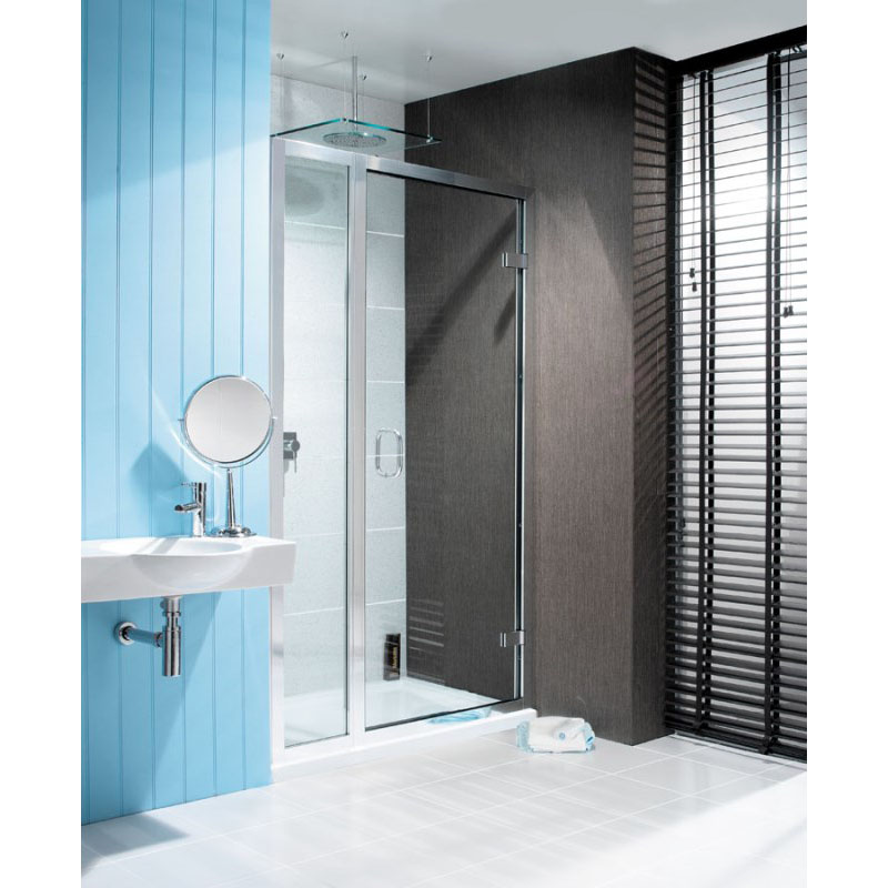 Classic Frameless Hinged Shower Door With Inline Panel Buy
