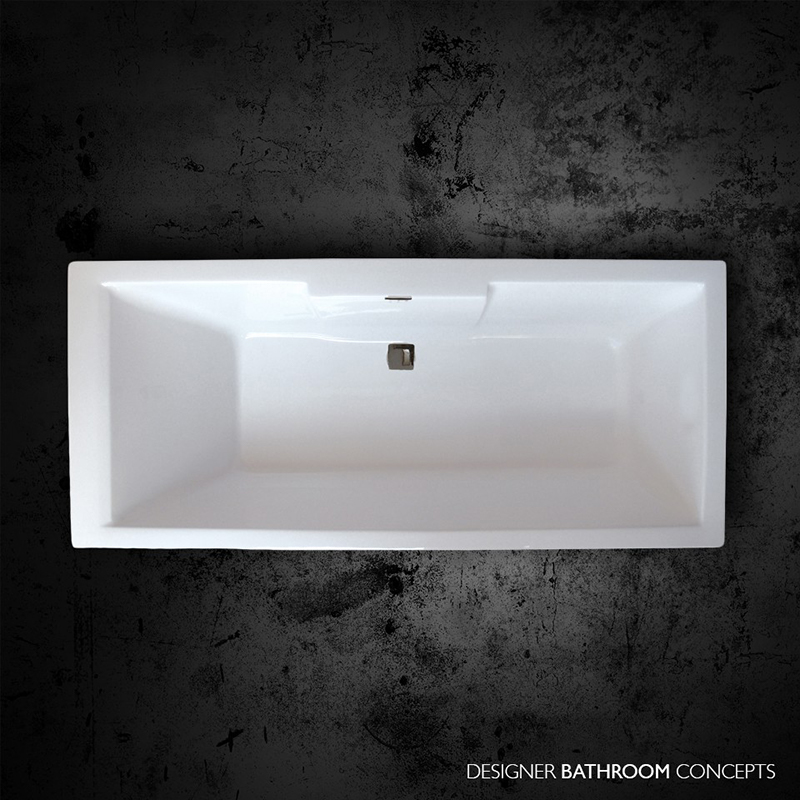Buy Large Baths, Large Double Ended Baths Online - Bathroom City