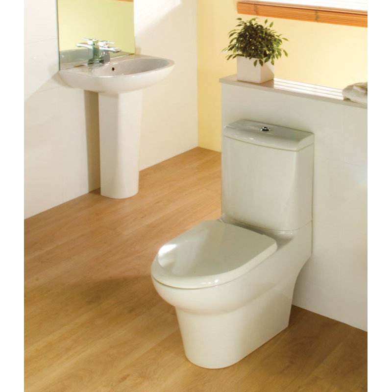 Rak infinity 4 Piece Bathroom Suite with Soft Close Seat