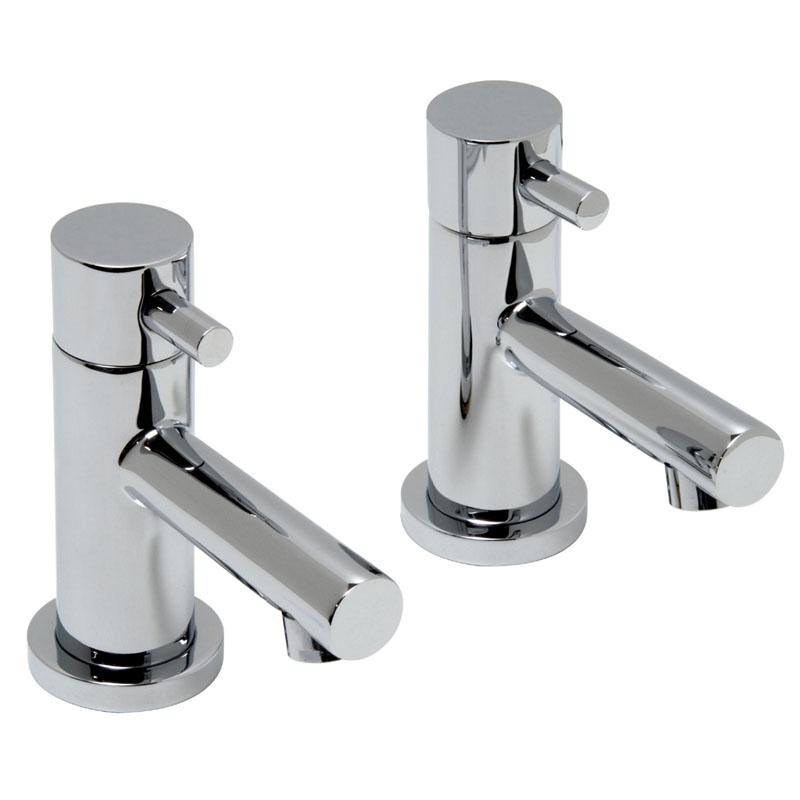 basin pillar taps deck mounted