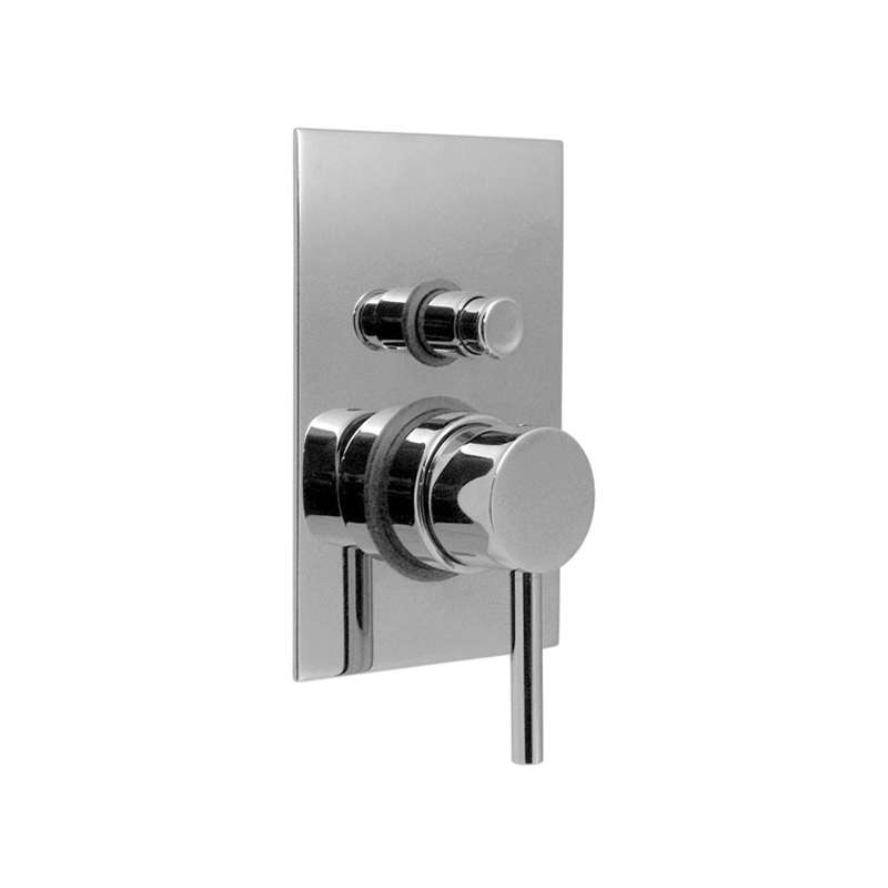 Concealed Thermostatic Shower Valve With Diverter Single