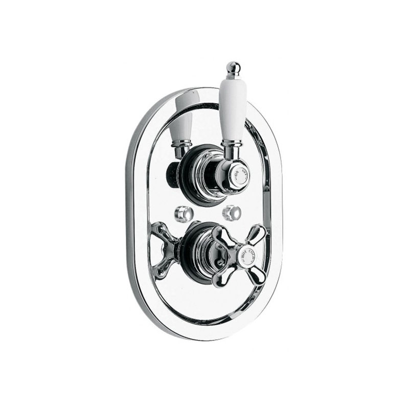 Westbury 3/4 Concealed Thermostatic Shower Valve in Chrome Or Gold ...