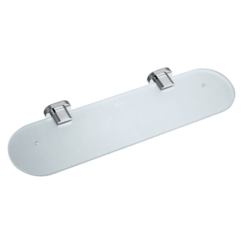 frosted glass shelf 530mm (21) wall mounted